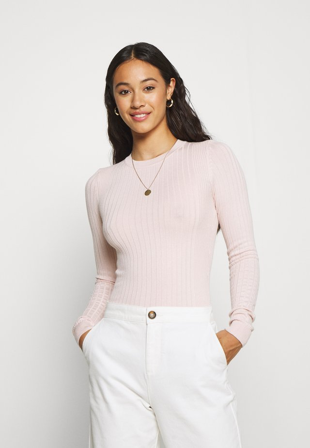 CREW - Pullover - nude