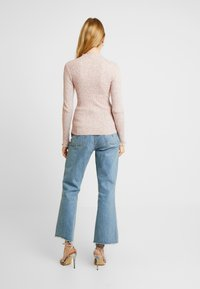 New Look - LETTUCE EDGE STAN - Sweter - light pink - 2