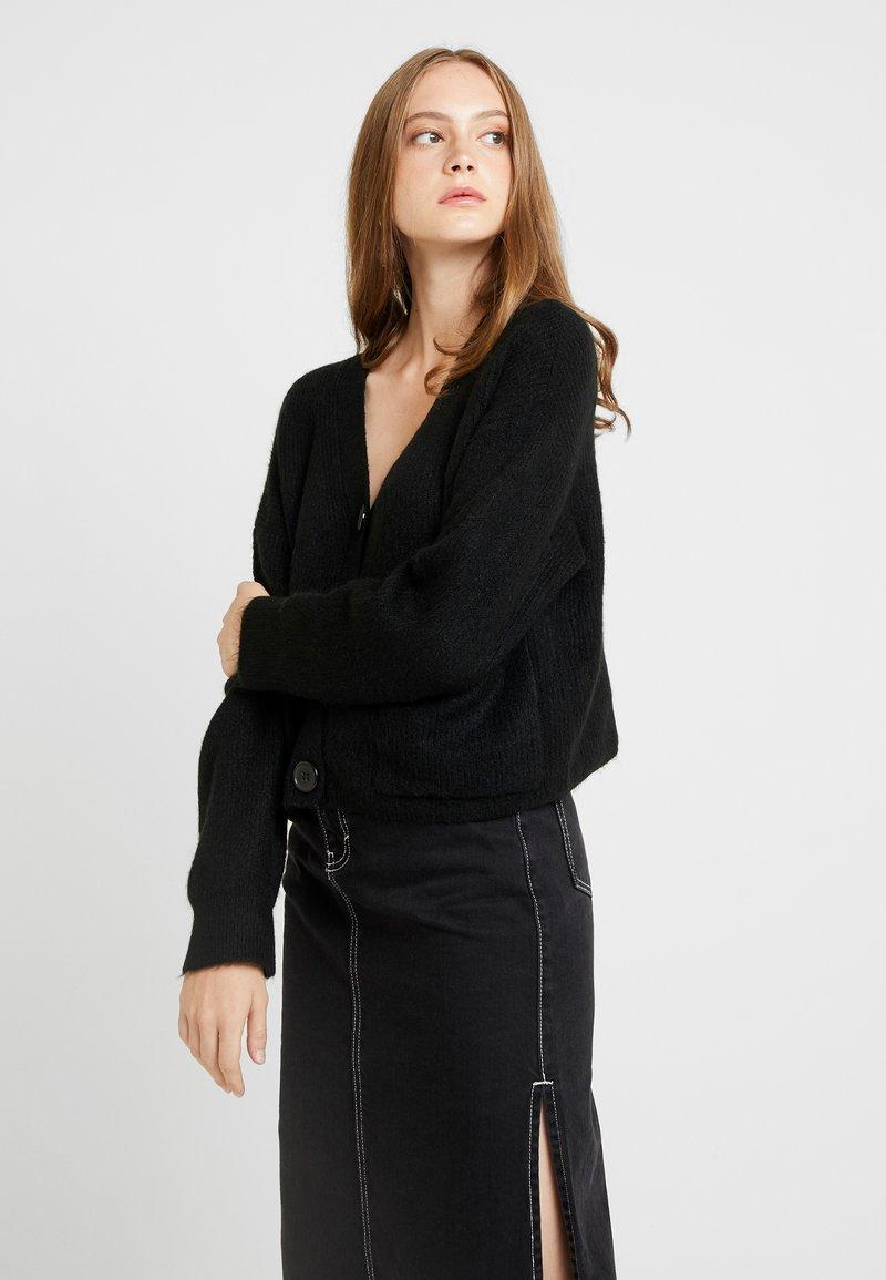 New Look - Chaqueta de punto - black