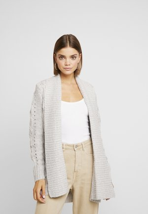 Cardigan - pale grey