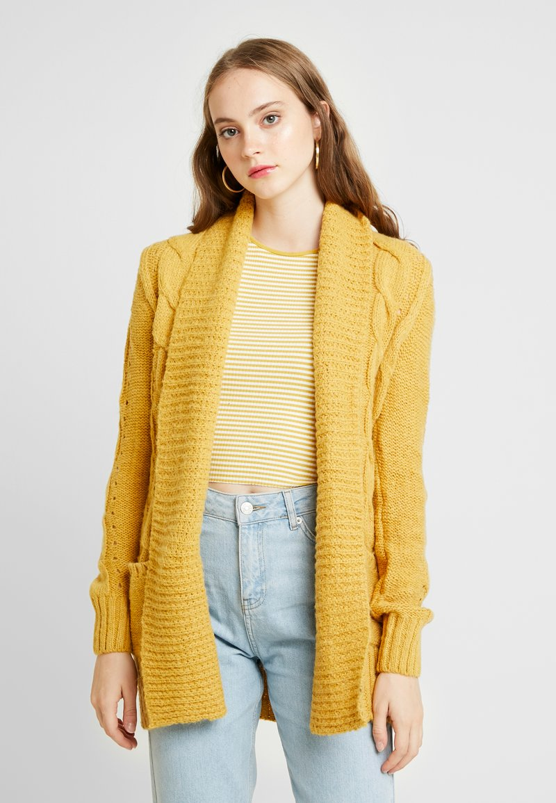 New Look - Cardigan - corn yellow