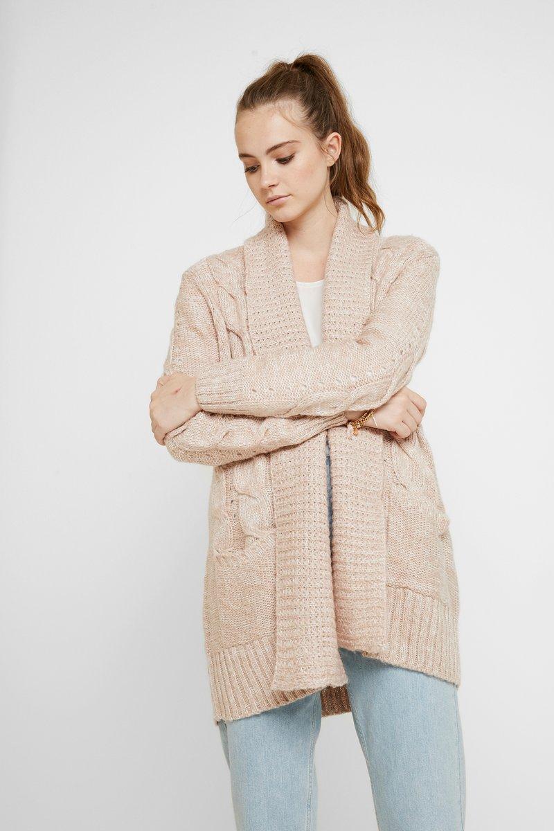 New Look - Gilet - deep pink