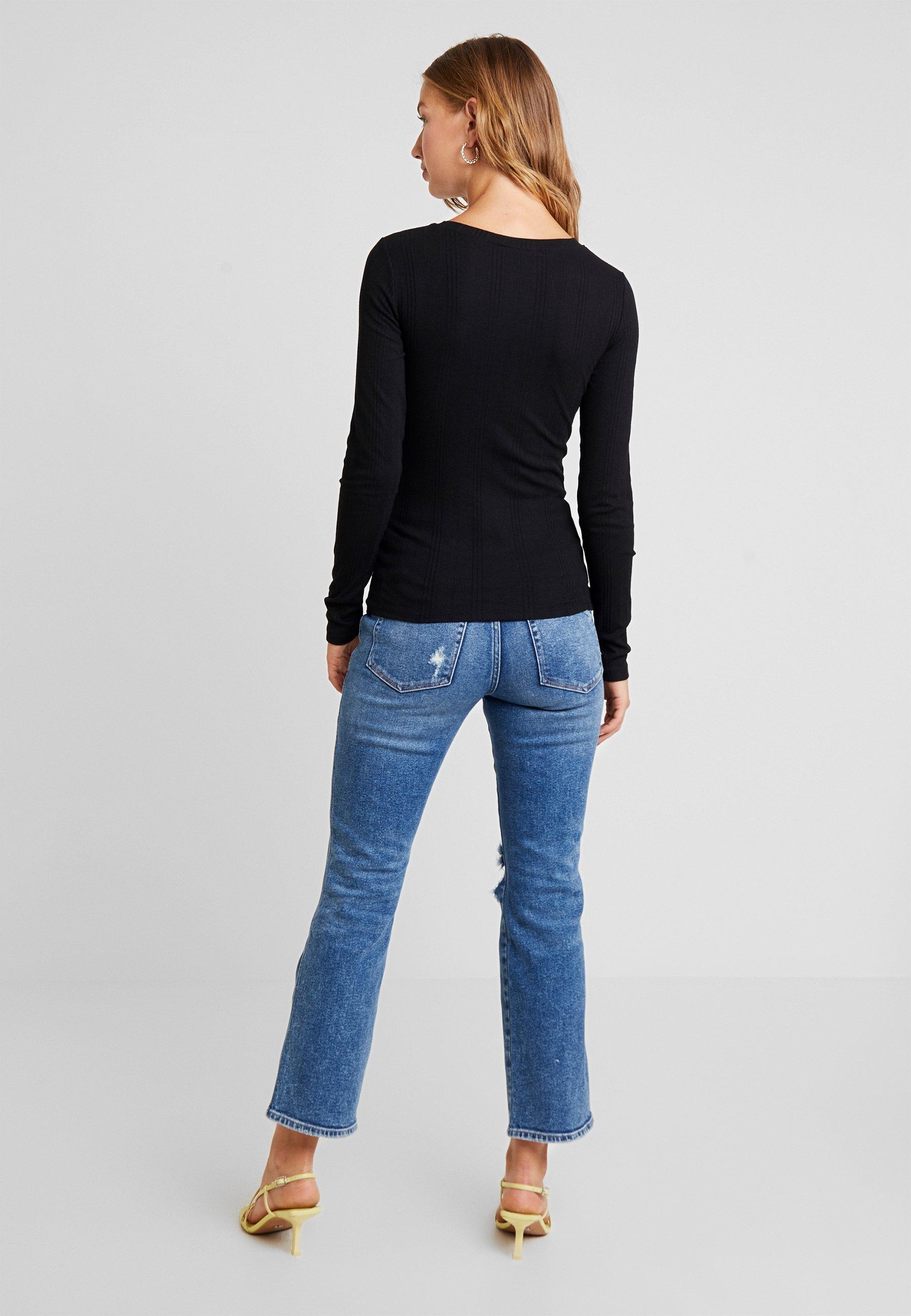 New Look VERONICA CREW - Topper langermet - black