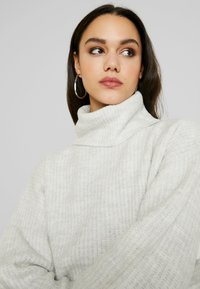 New Look - SLOUCHY LL ROLL  - Jumper - light grey - 3