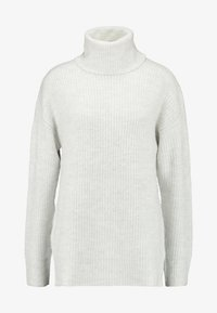 New Look - SLOUCHY LL ROLL  - Jumper - light grey - 4