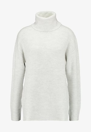 SLOUCHY LL ROLL  - Strikkegenser - light grey