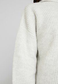 New Look - SLOUCHY LL ROLL  - Jumper - light grey - 5