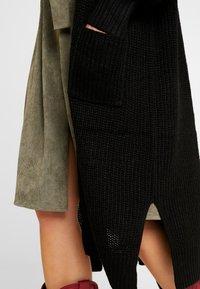 New Look - MAXI POCKET CARDI - Cardigan - black - 4