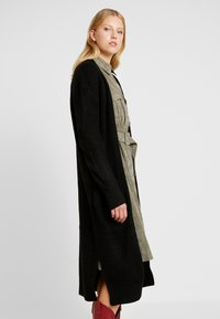 New Look - MAXI POCKET CARDI - Cardigan - black - 0
