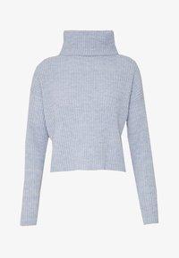 New Look - ROLL NECK JUMPER - Pullover - light blue - 3