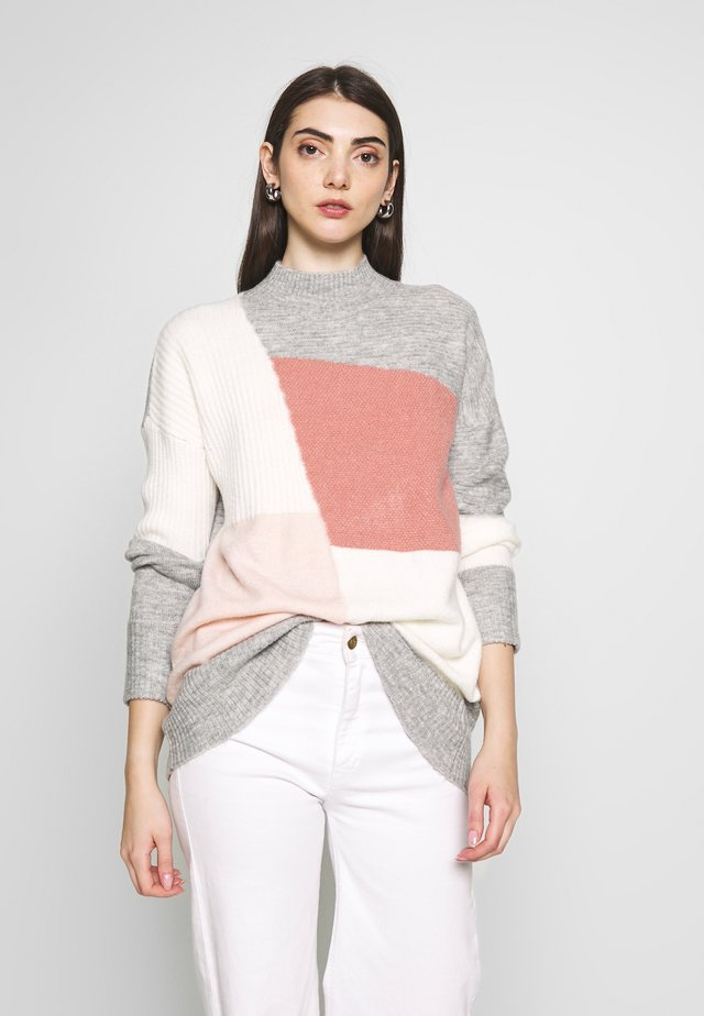PATCHWORK JUMPER - Neule - multi