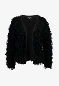 New Look - LOOPY CARDIGAN - Cardigan - black - 4