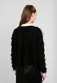 New Look - LOOPY CARDIGAN - Cardigan - black - 2