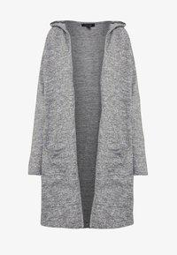 New Look - HOODED CARDIGAN - Cardigan - dark grey - 4