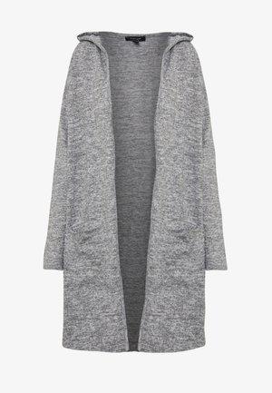 HOODED CARDIGAN - Cardigan - dark grey