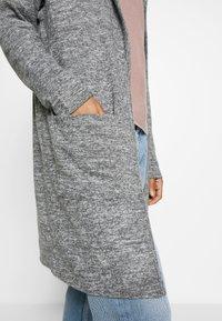 New Look - HOODED CARDIGAN - Kardigan - dark grey - 5