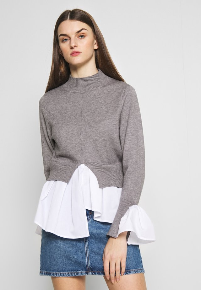 SEAM JUMPER - Sweter - light grey