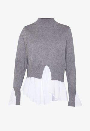 SEAM JUMPER - Stickad tröja - light grey