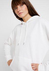New Look - OVERSIZED HOODY - Mikina skapucí - white - 3