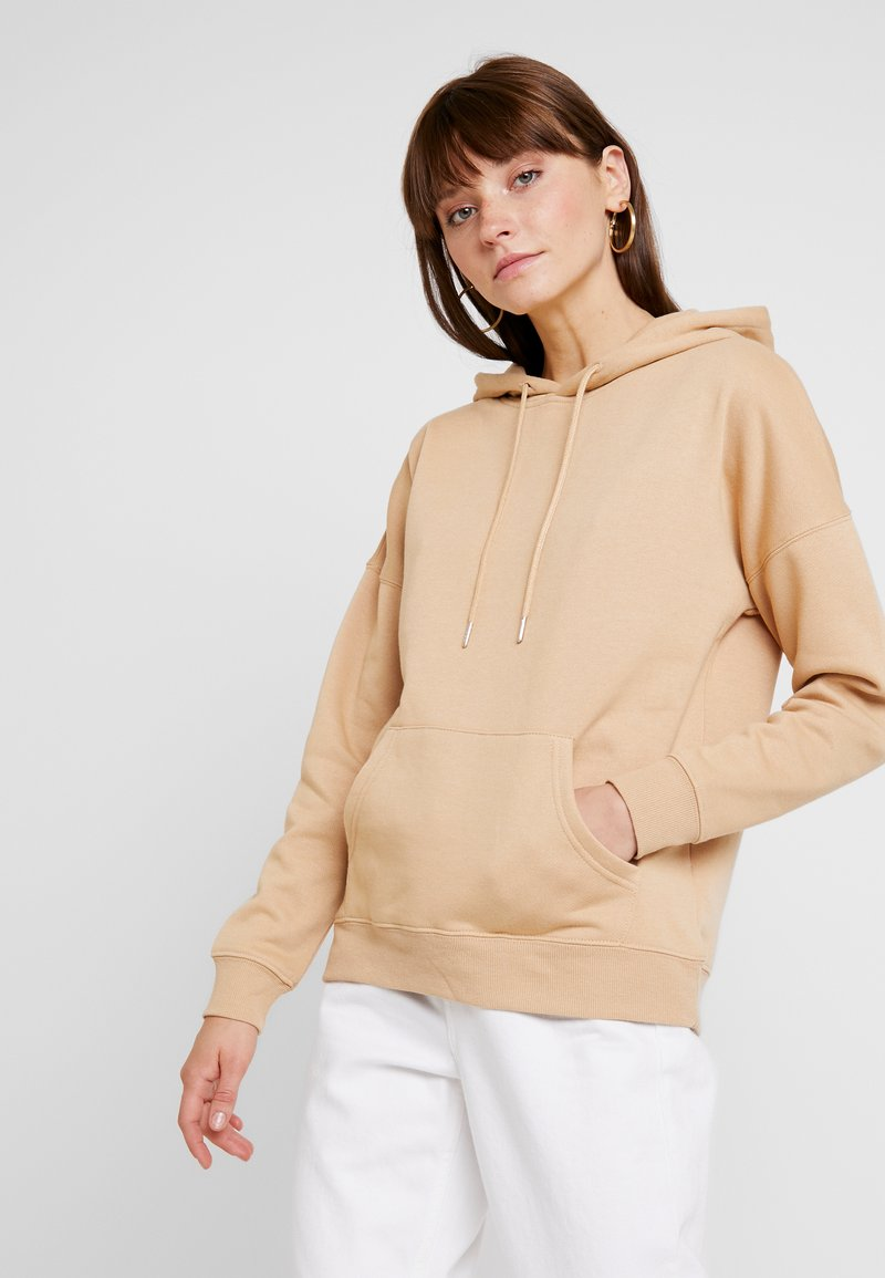 New Look - OVERSIZED HOODY - Luvtröja - camel