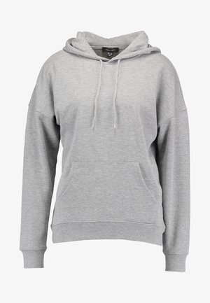 OVERSIZED HOODY - Sweat à capuche - grey marl
