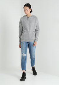 New Look - OVERSIZED HOODY - Sweat à capuche - grey marl - 1