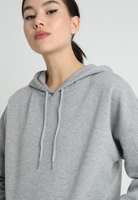 New Look - OVERSIZED HOODY - Sweat à capuche - grey marl - 3
