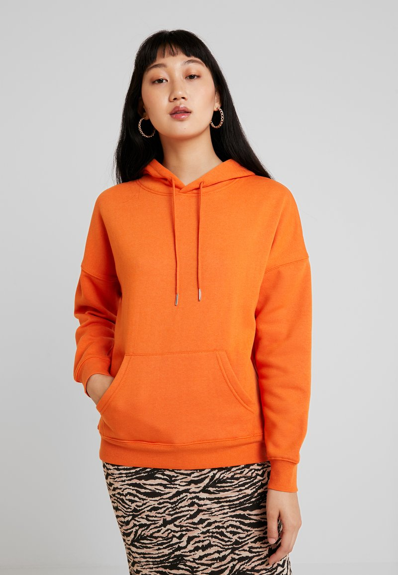 New Look - OVERSIZED HOODY - Hoodie - orange
