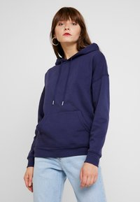 New Look - OVERSIZED HOODY - Sweat à capuche - navy - 0