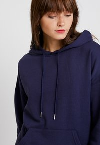 New Look - OVERSIZED HOODY - Sweat à capuche - navy - 3