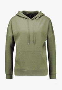 New Look - OVERSIZED HOODY - Hoodie - dark khaki - 4