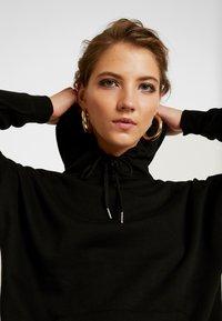 New Look - OVERSIZED HOODY - Hoodie - black - 3