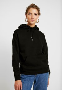 New Look - OVERSIZED HOODY - Sweat à capuche - black - 0