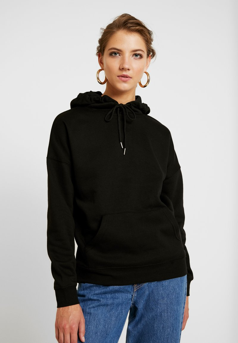 New Look - OVERSIZED HOODY - Sweat à capuche - black