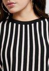 New Look - VERTICAL STRIPE - Strickpullover - black