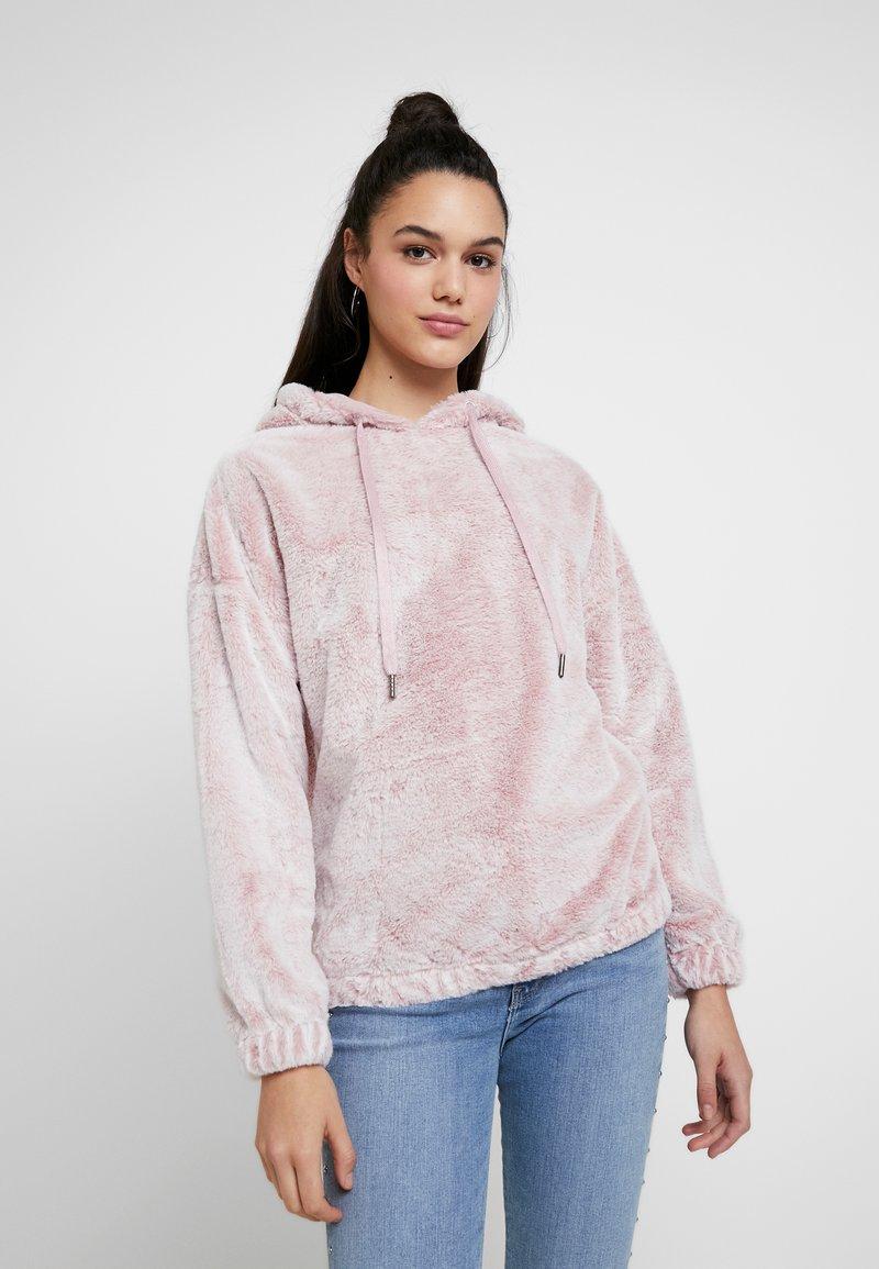 New Look - HOODY - Kapuzenpullover - pink