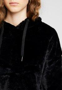 New Look - HOODY - Felpa con cappuccio - black - 5