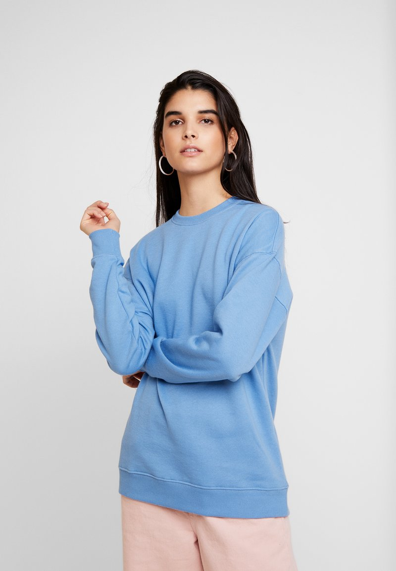 New Look - BRUSHED BACK - Sweatshirt - light blue