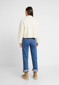 New Look - HALF ZIP - Sweatshirt - cream