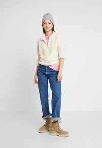 New Look - HALF ZIP - Sweatshirt - cream - 1