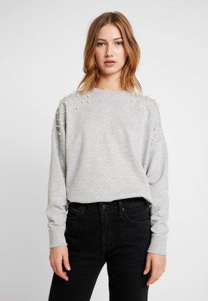 PEARL - Sweatshirt - mid grey