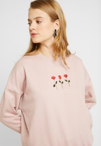New Look - LOVE MORE - Bluza - nude - 3