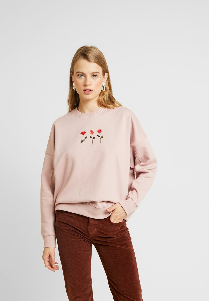 New Look - LOVE MORE - Bluza - nude