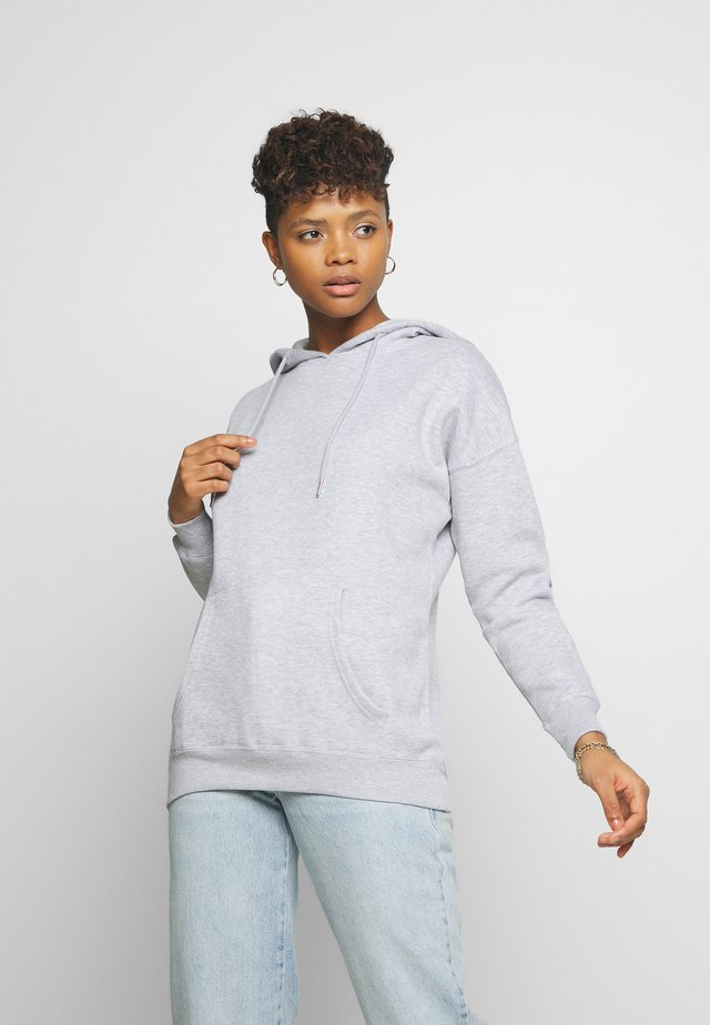 HOODY - Bluza z kapturem - light grey