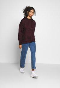 New Look - HOODY - Hoodie - dark burgundy - 1