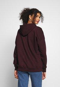 New Look - HOODY - Hoodie - dark burgundy - 2