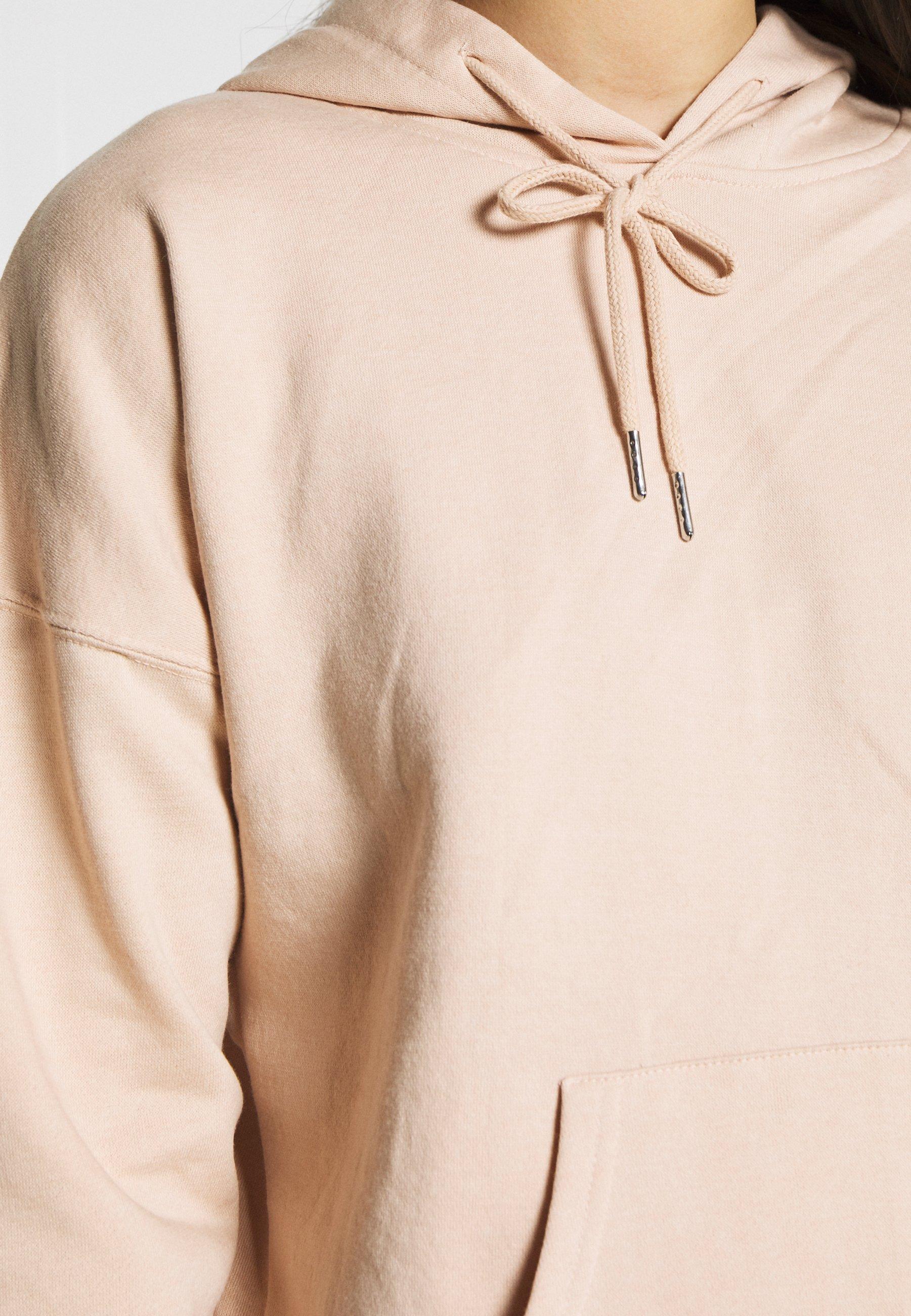 New Look HOODY - Bluza z kapturem - nude
