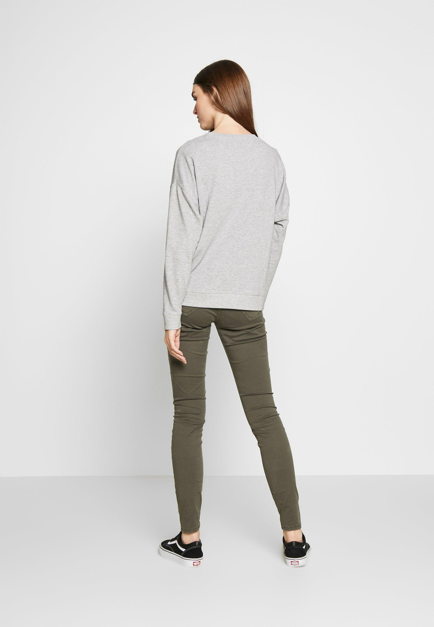 New Look ROSES - Bluza - mid grey