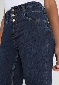 New Look - HIGHWAIST - Skinny džíny - blue pattern - 3