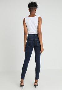 New Look - HIGHWAIST - Skinny džíny - blue pattern - 2